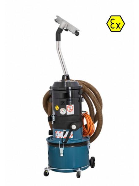 Aspiratore carrellato DC 1800 EX per ambienti a rischio esplosione