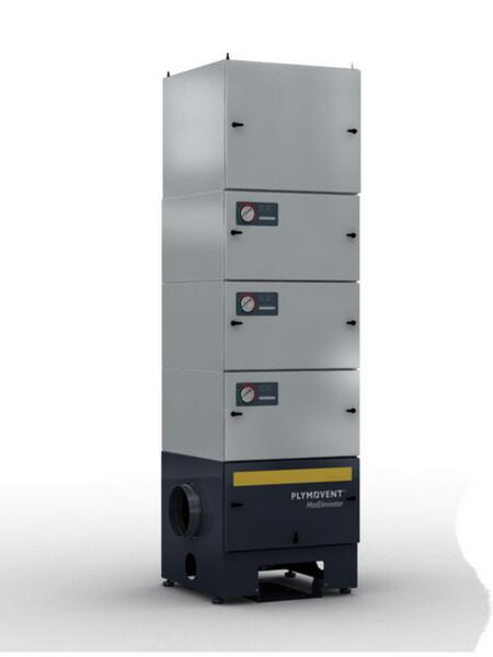 filtro ME-42-F1 con filtro Hepa per ricircolo in ambiente