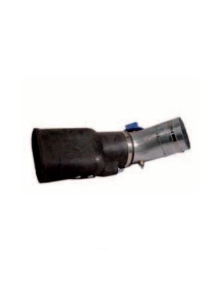Bocchetta da collegare a tubo flessibile per aspirazione gas di di scarico
