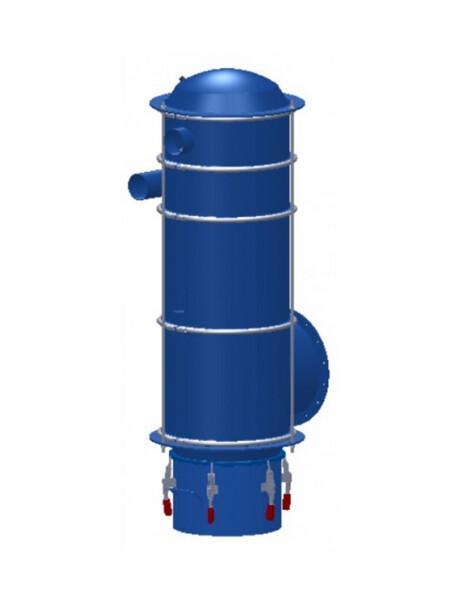 filtro autopulente ad alta pressione per grandi quantità di polvere