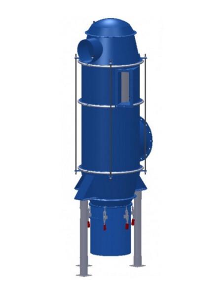 Aspirazione e filtrazione polveri secche in alta pressione
