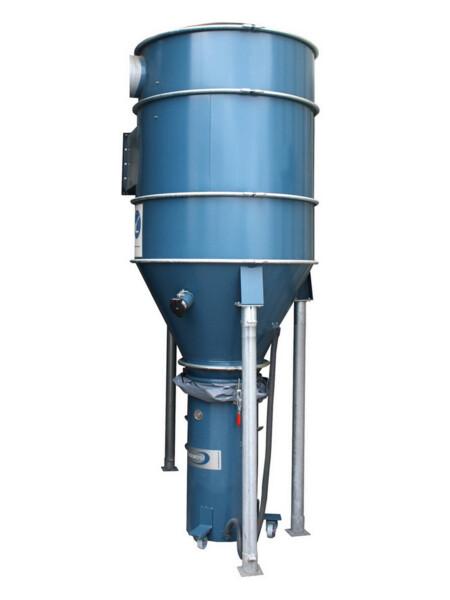 aspirazione, filtrazione e trasporto di polveri, trucioli e detriti con S32000