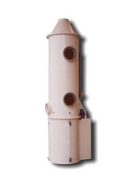 Lavaggio gas acidi con torre di lavaggio PT