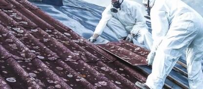 Rimozione polveri di amianto in sicurezza