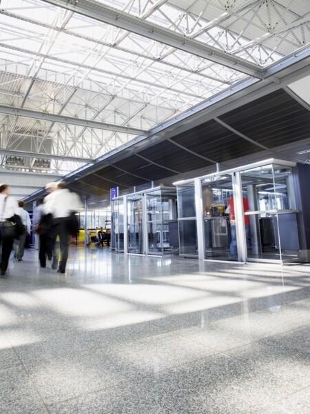 Cabine fumatori per locali indoor come in aziende o aeroporti