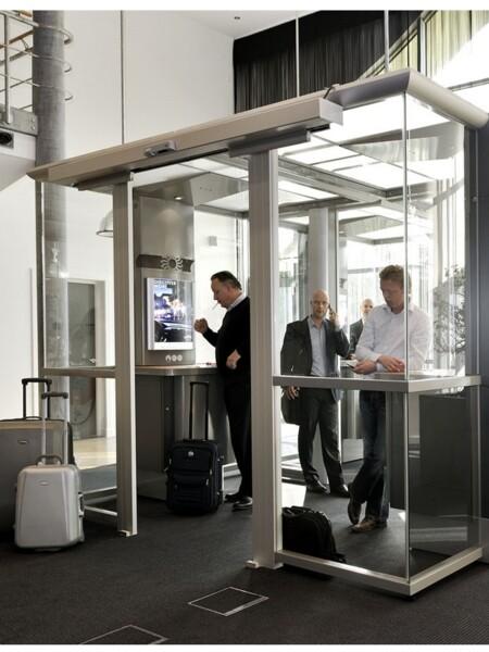 Cabine fumatori per indoor per aspirazione fumo di sigarette