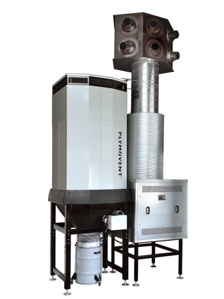 Purificatore d'aria per eliminare fumo e polveri di saldatura
