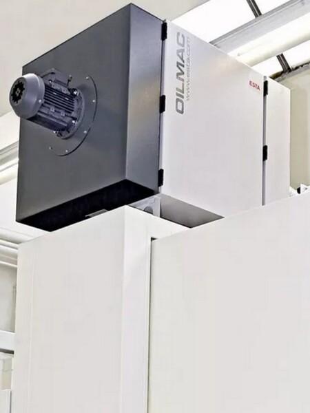 Filtro industriale fissa con filtro assoluto hepa