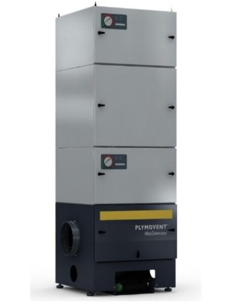 Filtro per ambienti industriali con filtro a carboni attivi