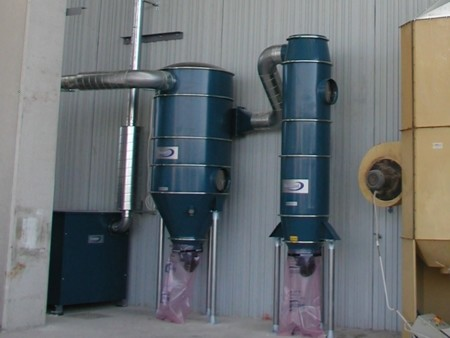 impianto ad alta pressione con filtri Dustcontrol