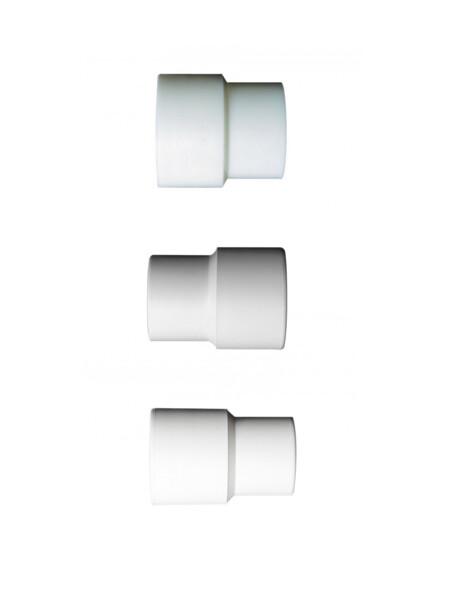 Manicotti FDA per collegare accessori ø38, 50 e 76 ai tubi flessibili