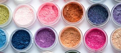 Aspirazione prodotti cosmetici in polvere