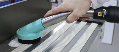 spazzole certificate per pulizia zone di lavoro