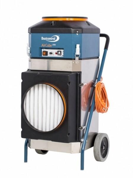 Aircube 2000 per ambienti di lavoro molto polverosi come panetterie o falegnamerie