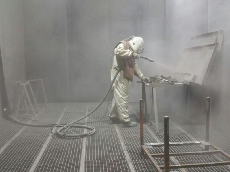 Depurazione e smaltimento polveri da sabbiatura e pallinatura