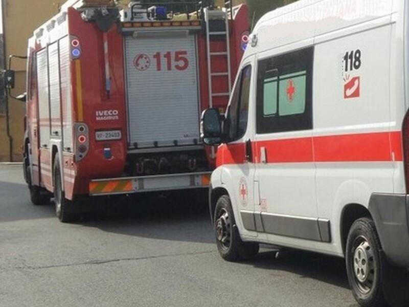 Aspirazione gas di scarico veicoli di emergenza