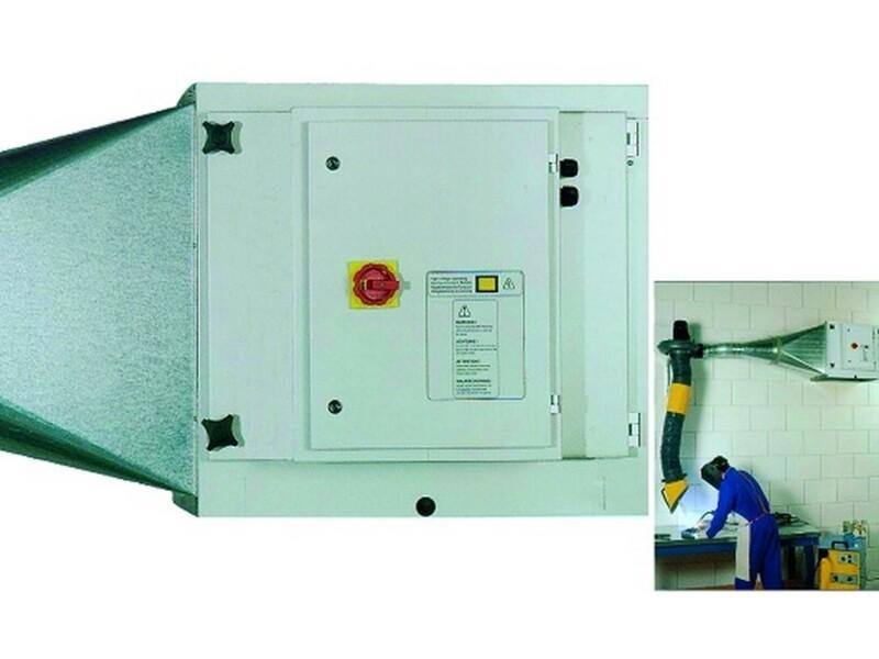 Filtri elettrostatici per eliminazione fumi unti e nebbie oleose derivanti da lavorazioni macchine utensili