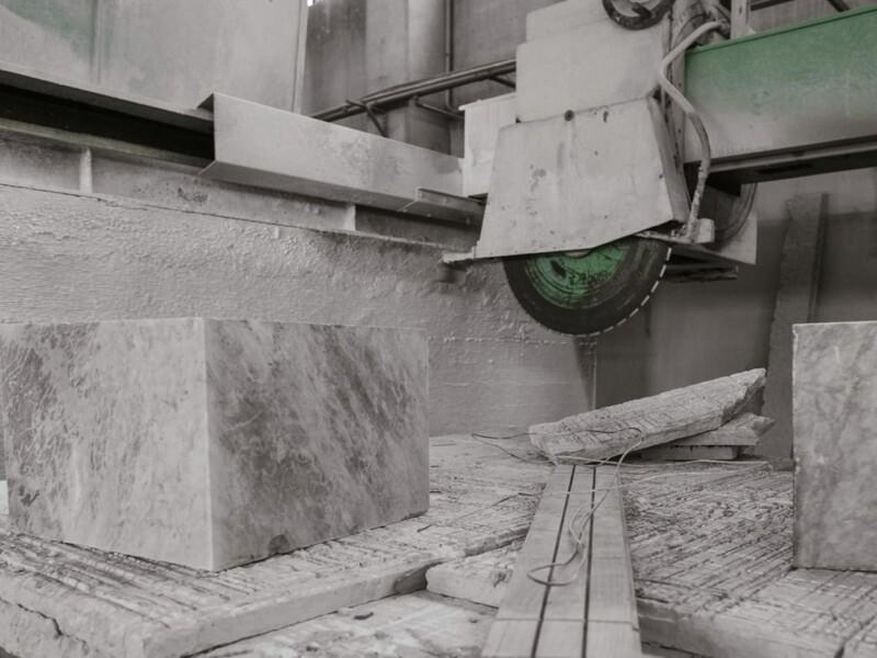 Aspirazione polveri fini da lavorazione marmo