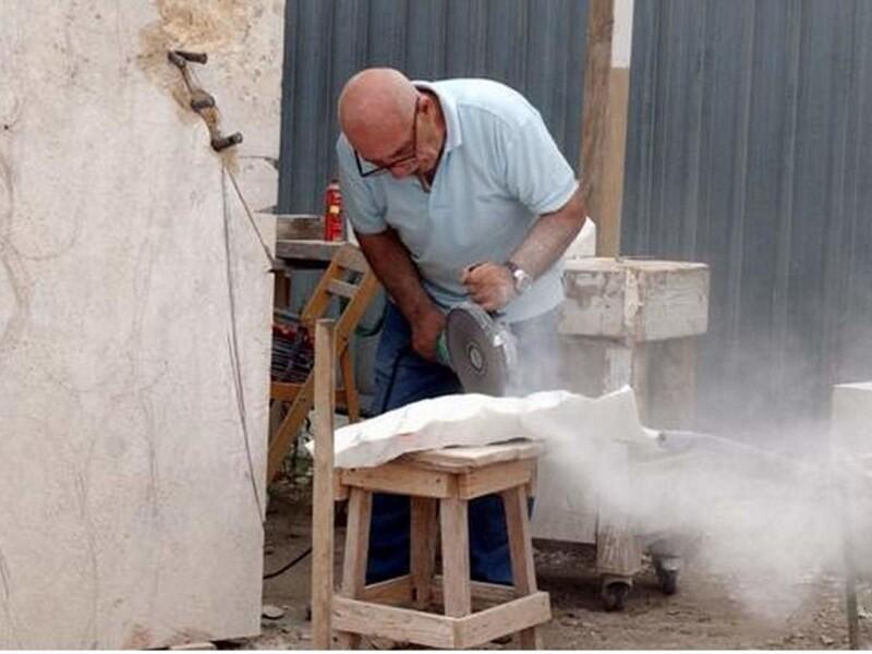 Aspirazione di polveri da lavorazione marmi e pietre