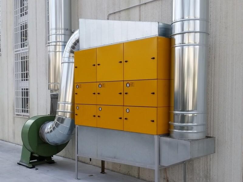 Filtro modulare per nebbie oleose