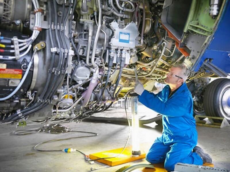Aspirazione nell'industria aerospaziale