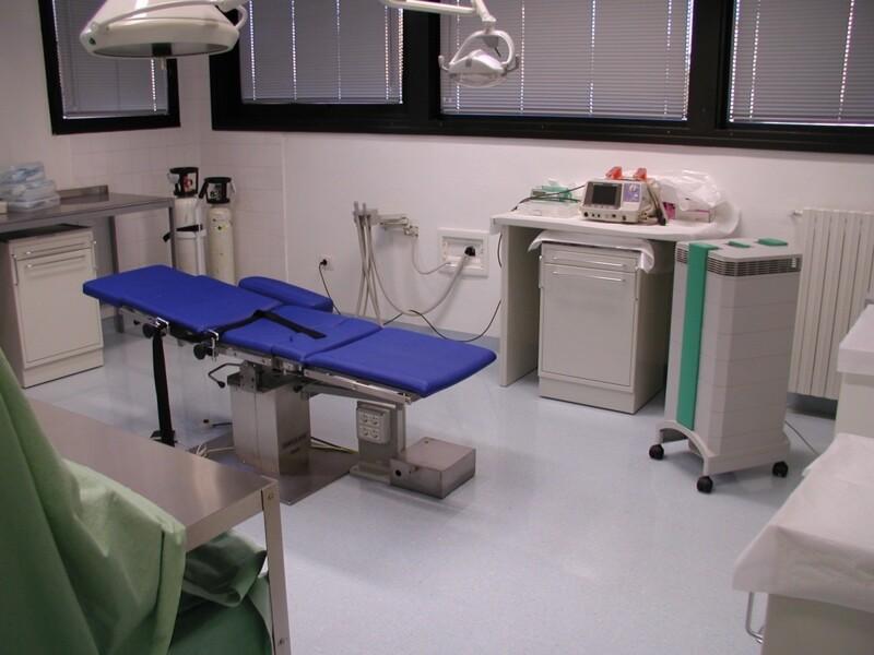Purificazione e sanificazione ambulatorio dentistico