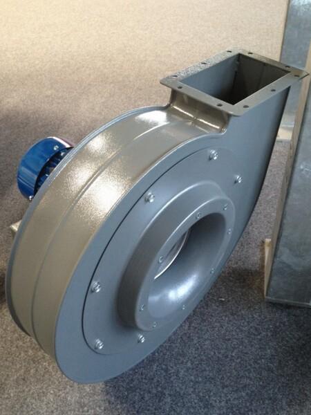 Elettroventilatore centrifugo per basse portate